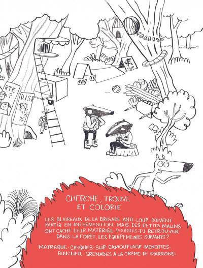 Page 9 Le loup en slip - Livre d'activités
