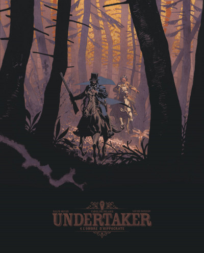 Couverture Undertaker tome 4 - édition bibliophile