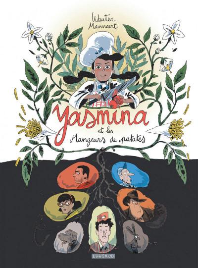 Couverture Yasmina et mangeurs patates