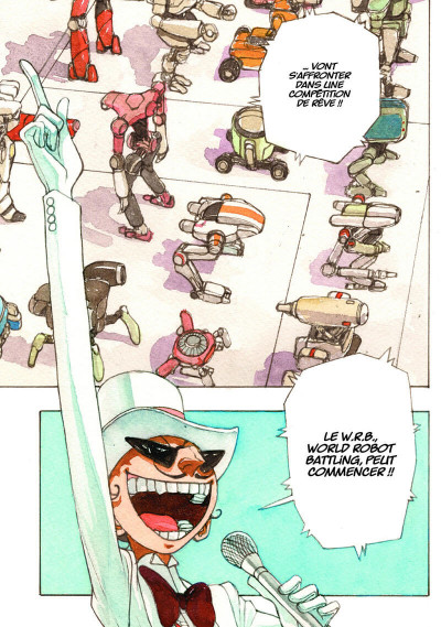 Page 6 Atom the beginning tome 6