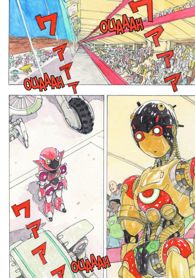 Page 7 Atom the beginning tome 6