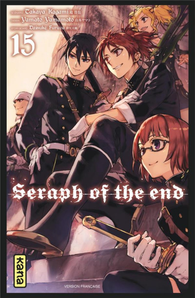 Couverture Seraph of the end tome 15
