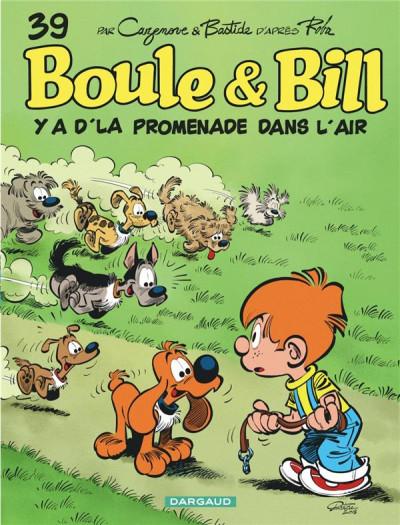 Couverture Boule & Bill tome 39 - Y a d'la promenade dans l'air