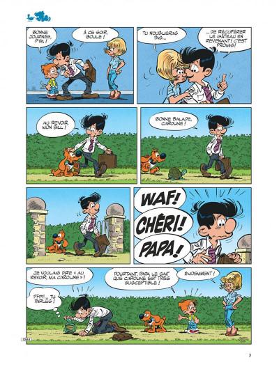 Page 3 Boule & Bill tome 39 - Y a d'la promenade dans l'air