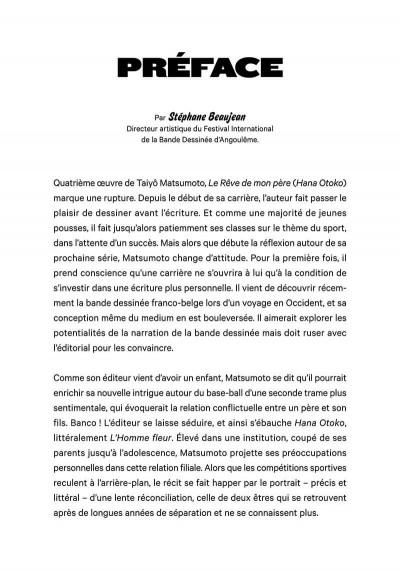 Page 4 Le rêve de mon père tome 1