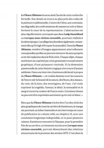 Page 6 Le fleuve Shinano - intégrale tome 1