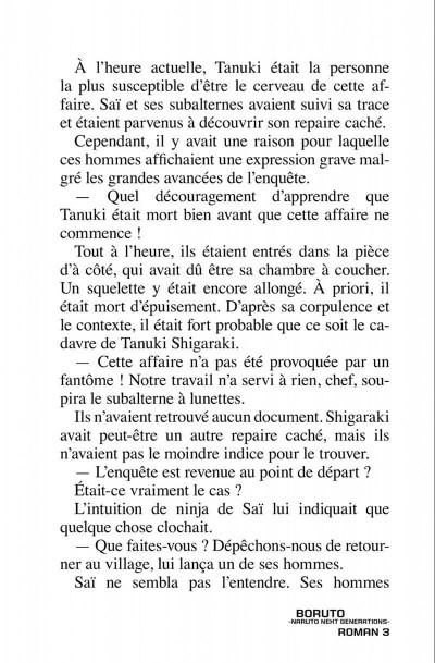 Page 9 Boruto - roman tome 3