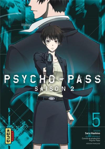 Couverture Psycho-pass - saison 2 tome 5