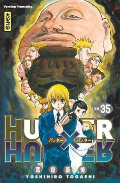 Couverture Hunter X hunter tome 35