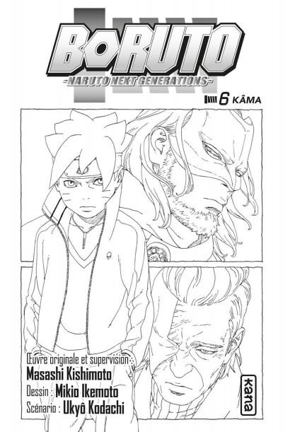 Page 2 Boruto tome 6