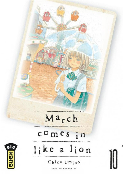Couverture March comes in like a lion tome 10
