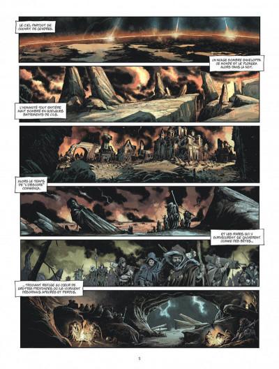 Page 5 Les âges perdus tome 1 + ex-libris offert