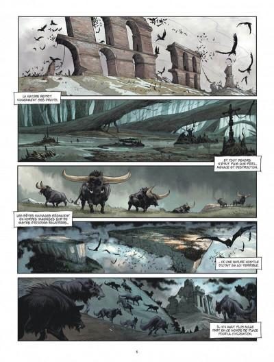 Page 6 Les âges perdus tome 1 + ex-libris offert