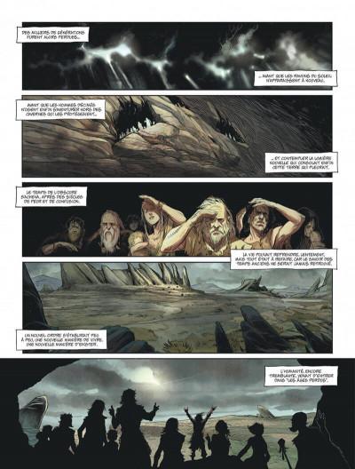 Page 7 Les âges perdus tome 1 + ex-libris offert