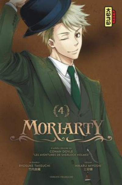 Couverture Moriarty tome 4
