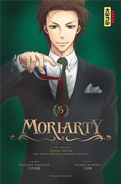 Couverture Moriarty tome 5