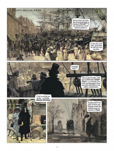 Page 5 La vengeance du comte Skarbek - intégrale