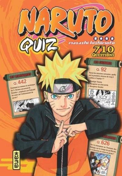 Couverture Naruto quiz