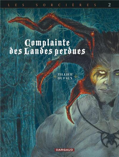 Couverture Complainte des landes perdues - cycle les sorcières tome 2 (édition n&b)