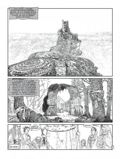 Page 3 Complainte des landes perdues - cycle les sorcières tome 2 (édition n&b)