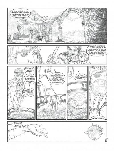 Page 5 Complainte des landes perdues - cycle les sorcières tome 2 (édition n&b)