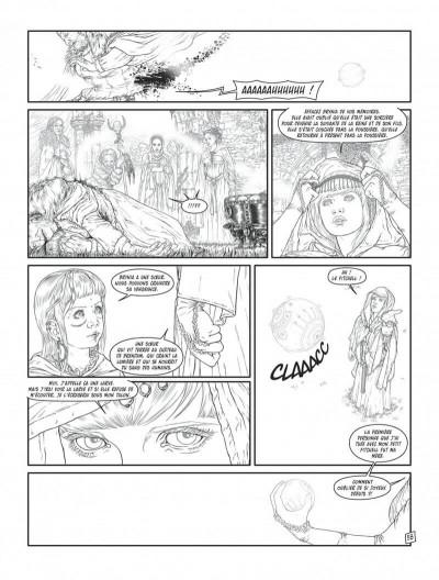 Page 6 Complainte des landes perdues - cycle les sorcières tome 2 (édition n&b)