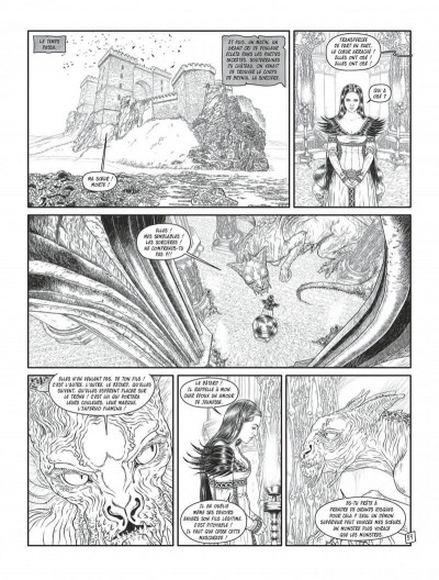 Page 7 Complainte des landes perdues - cycle les sorcières tome 2 (édition n&b)