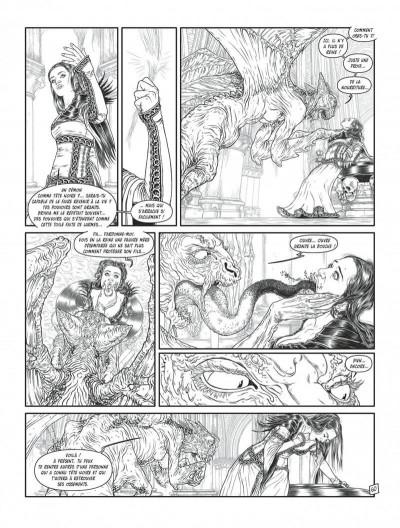 Page 8 Complainte des landes perdues - cycle les sorcières tome 2 (édition n&b)