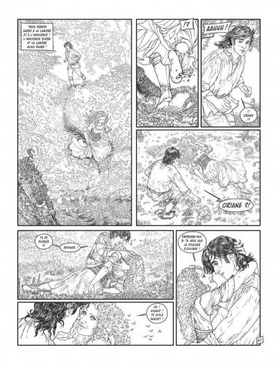 Page 9 Complainte des landes perdues - cycle les sorcières tome 2 (édition n&b)
