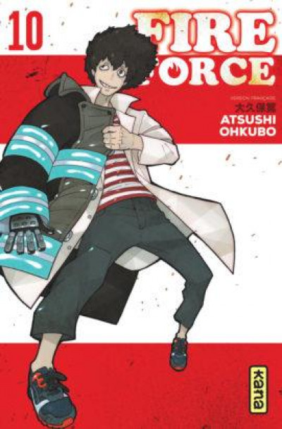 Couverture Fire force tome 10