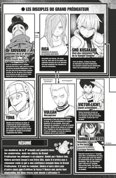 Page 6 Fire force tome 10