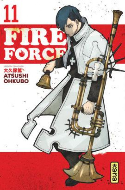 Couverture Fire force tome 11