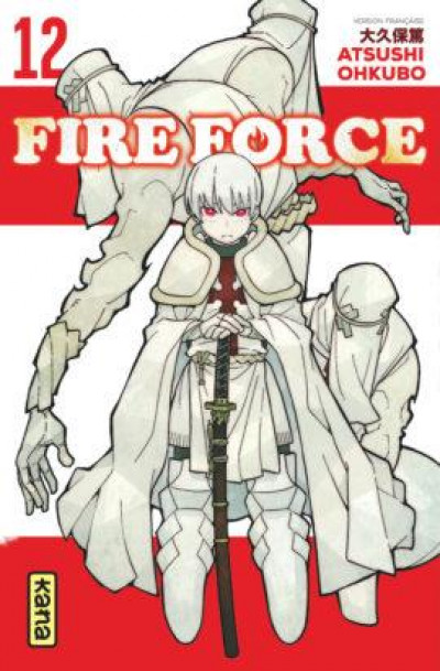 Couverture Fire force tome 12