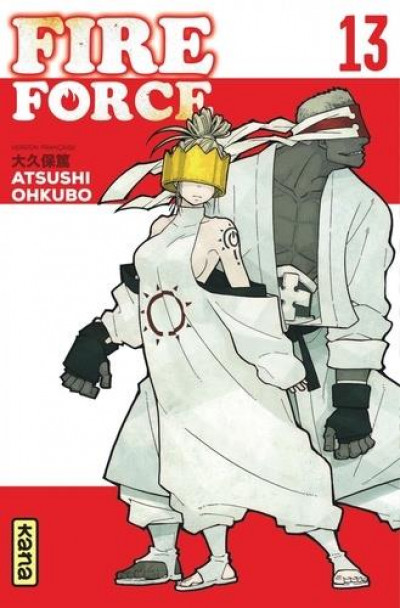 Couverture Fire force tome 13