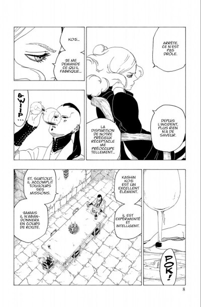 Page 8 Boruto tome 7
