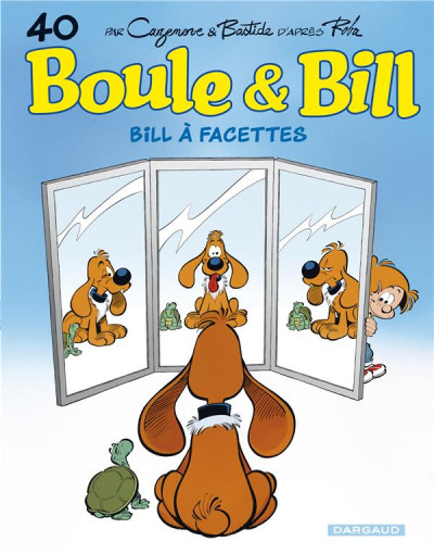 Couverture Boule & Bill tome 40