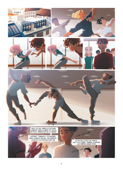 Page 8 Emma et Capucine tome 4