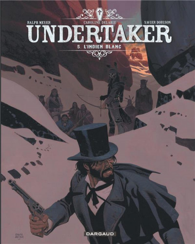 Couverture Undertaker tome 5