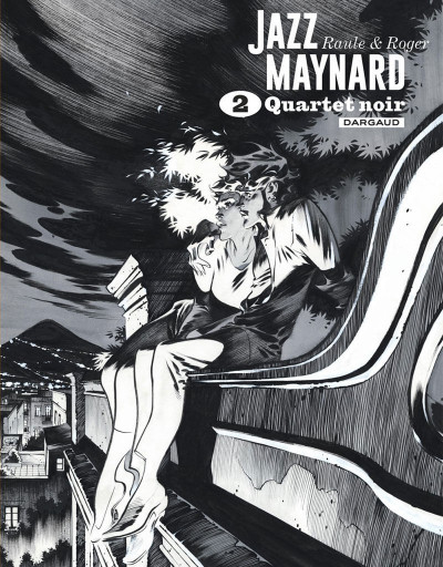 Couverture Jazz Maynard - intégrale n&b tome 2
