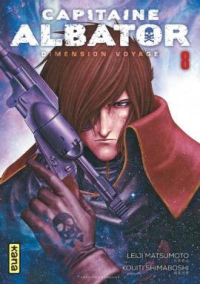 Couverture Capitaine Albator - dimension voyage tome 8