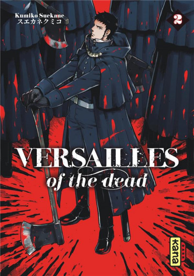Couverture Versailles of the dead tome 2