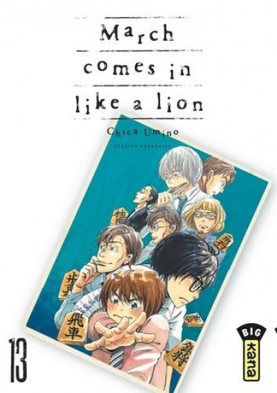 Couverture March comes in like a lion tome 13