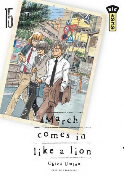 Couverture March comes in like a lion tome 15