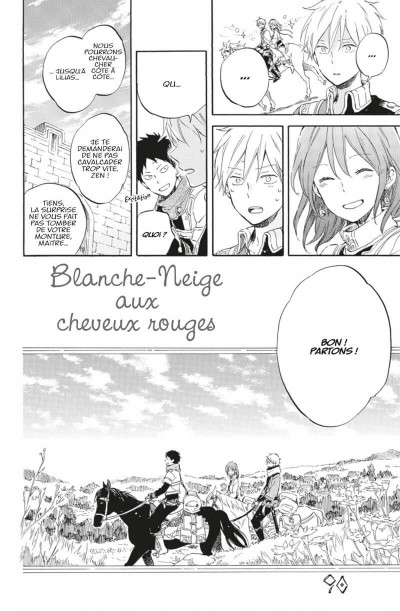 Page 7 Shirayuki aux cheveux rouges tome 19