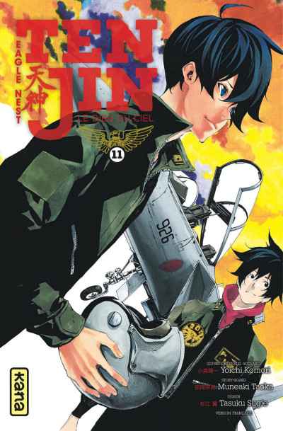 Couverture Tenjin tome 11