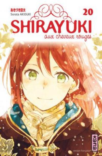 Couverture Shirayuki aux cheveux rouges tome 20