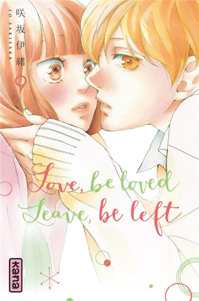 Couverture Love, be loved - Leave, be left tome 9