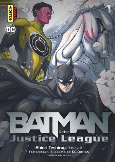 Couverture Batman & the Justice League tome 4