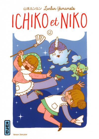 Couverture Ichiko et Niko tome 12