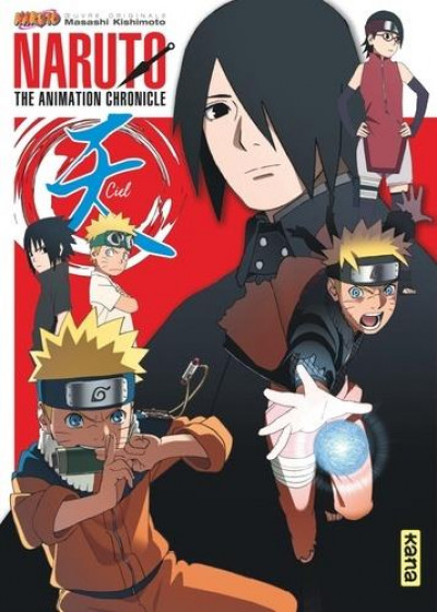 Couverture Naruto - the animation chronicles